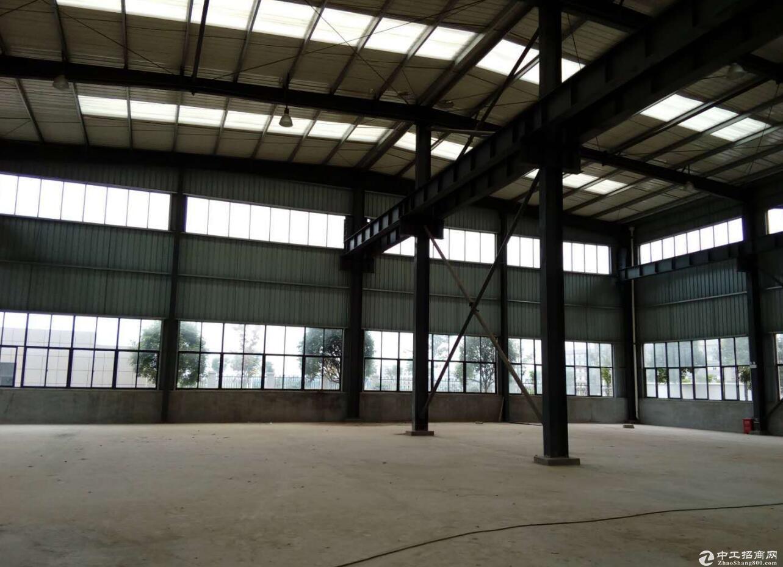 江夏独栋钢结构标准3000厂房出租