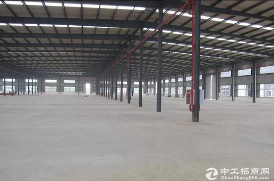 黄陂天河全新14米层高钢构厂房一楼出租!
