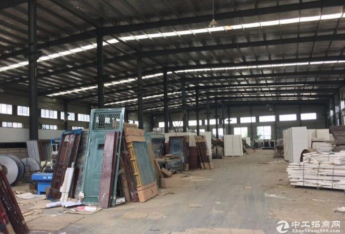 江夏区白沙洲大道旁标准2000㎡钢构厂房出租