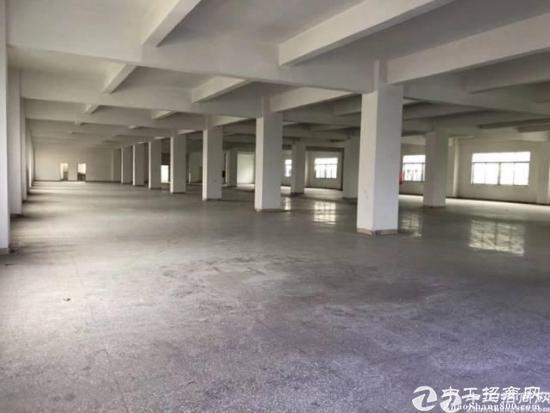 布吉上李朗新出楼上带装修两层5200平厂房出租