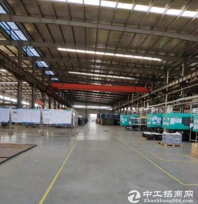 蔡甸常福独栋3000平单层钢构厂房,行车10吨