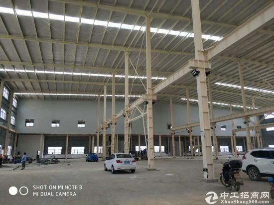 全新单层钢构厂房3850平方,丙二类消防,带行车