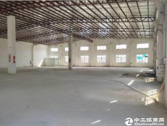 观澜清平高速出口附近大型物流园新出单一层钢构出租