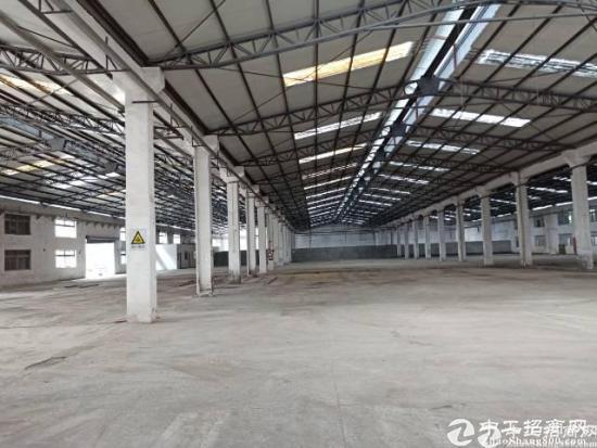 公明下村原房东钢构厂房出租9800平方实际面积分