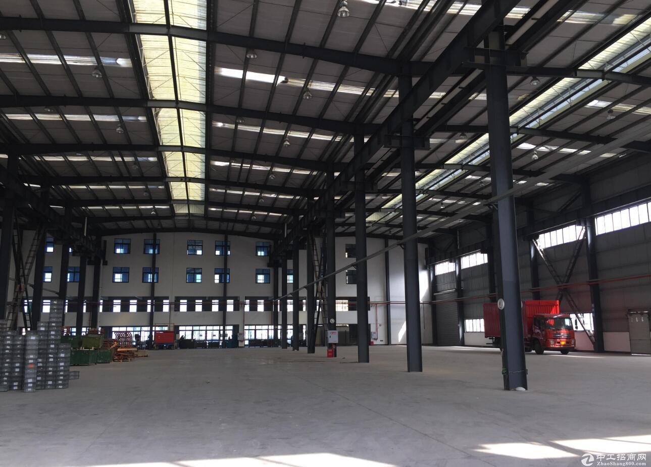 渝北 8000平标准钢结构厂房出租 带行车