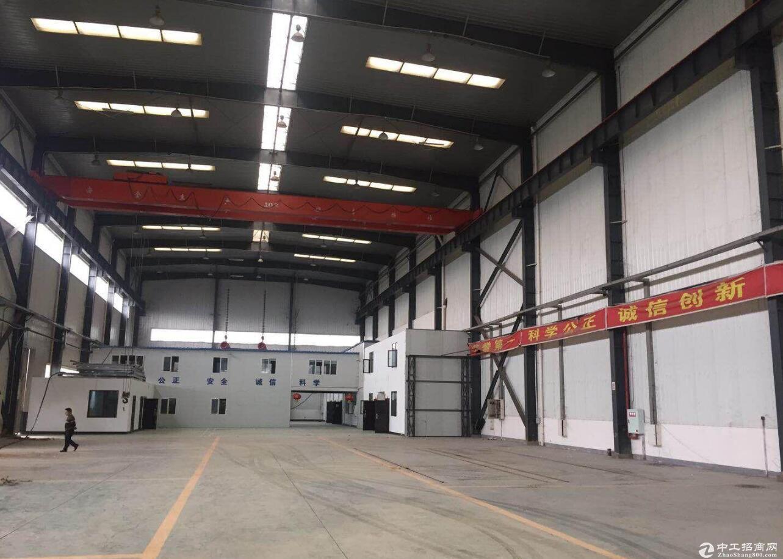 渝北 空港单层2400平高13米重型行车厂房