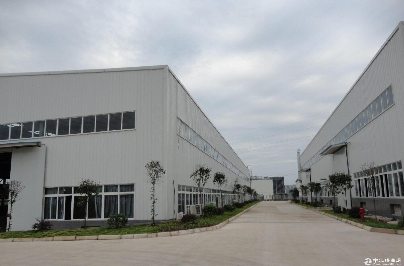 渝北周边 机场50公里 占地63亩1万平米 厂房