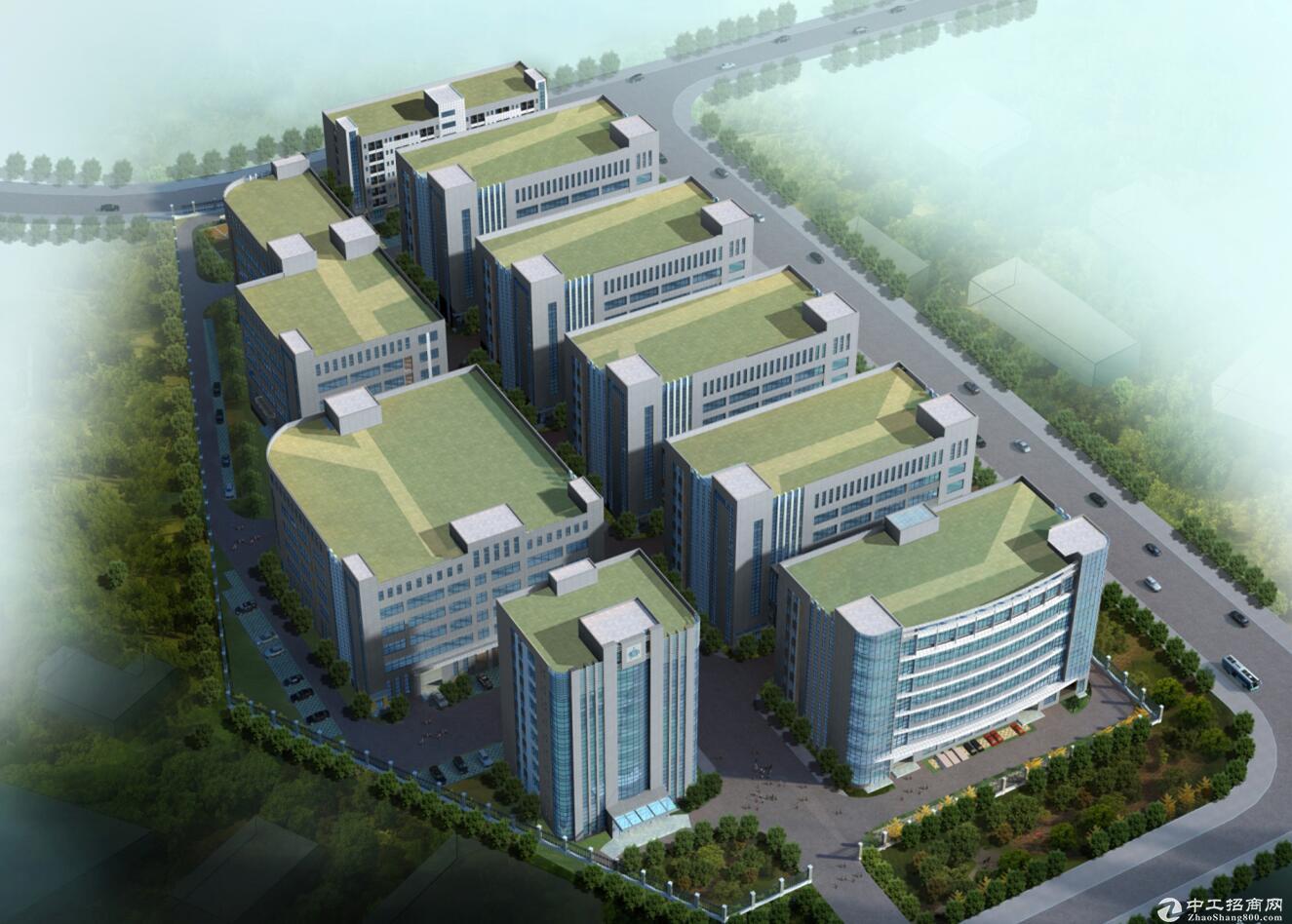 渝北新建框架厂房1400平可租可售