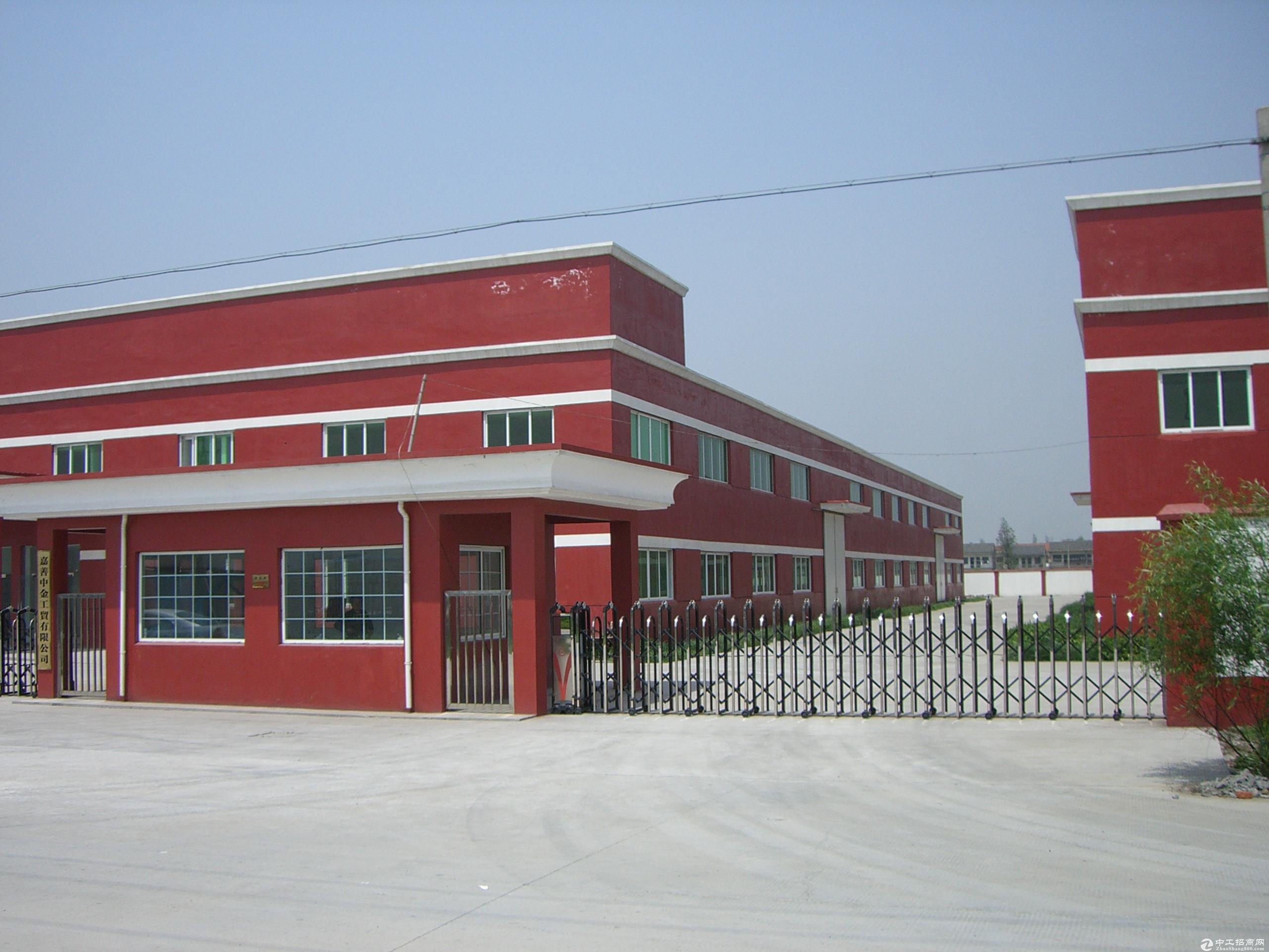 嘉善县魏塘街道工业园区标准厂房出售