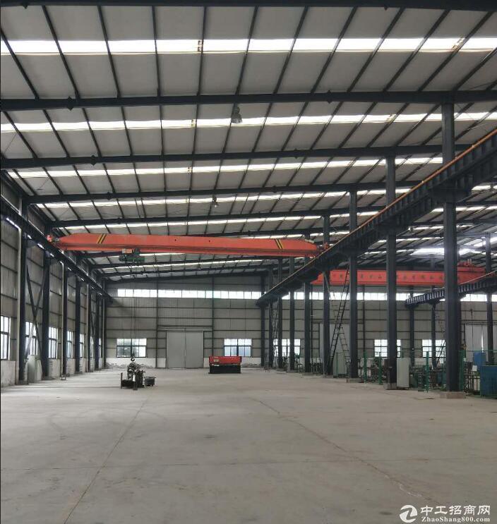 北碚2000平米标准钢构厂房出租,带20T行车