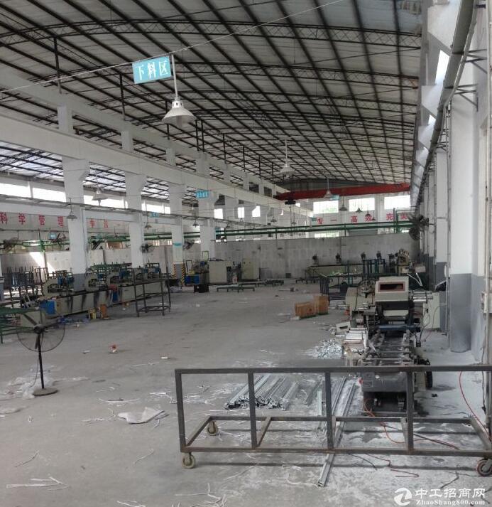 同兴工业园2600平米标准带行车厂房出租