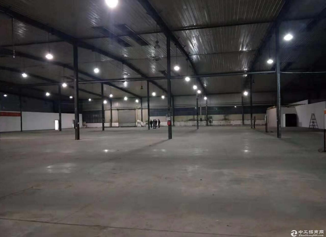单层钢架结构带1000动力电厂库房出租