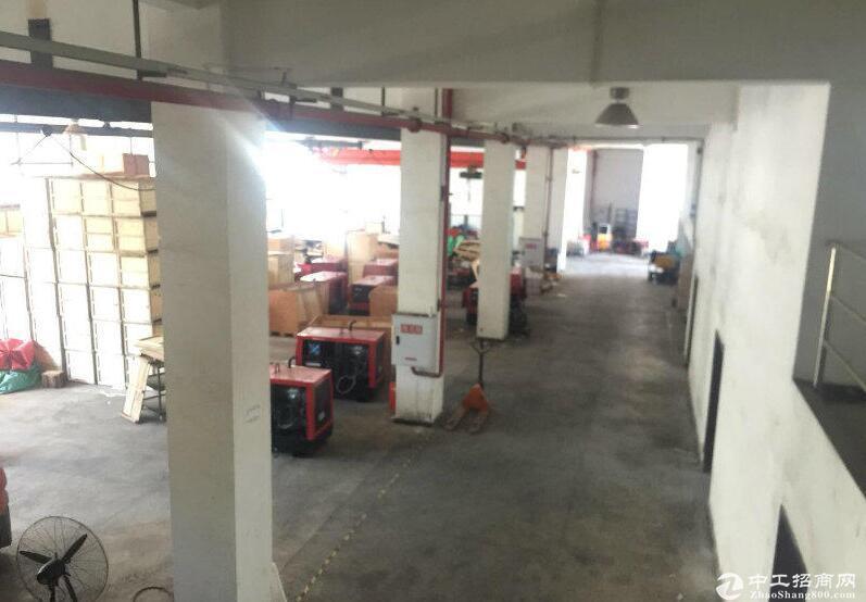 北碚工业园2300方独栋行车厂房出租!