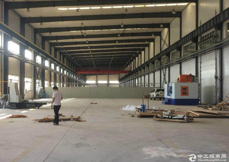 江夏山湖大道2000平米单层钢构厂房出租19元