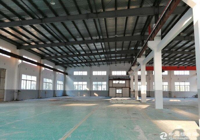 出租高淳经开区 2000平单层已装行车厂房400平精装办公室