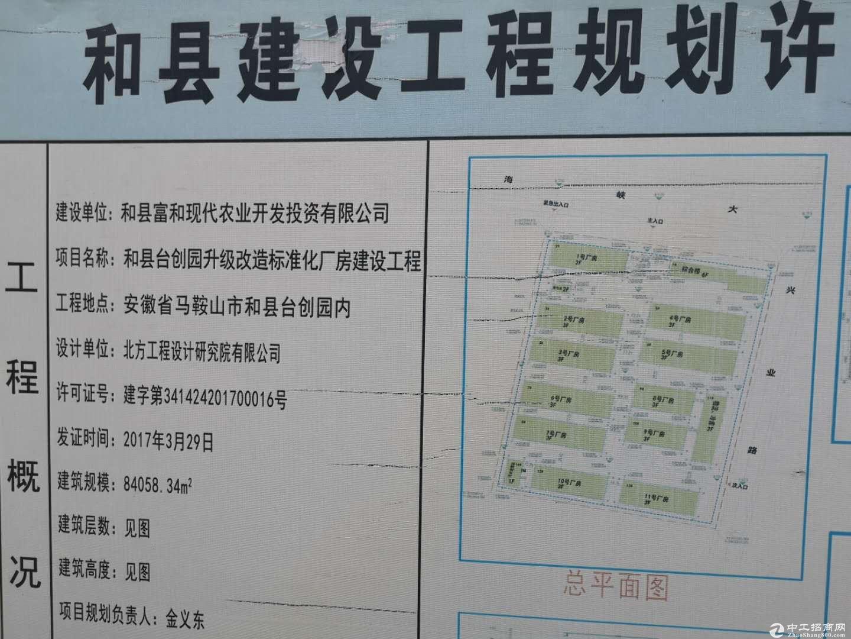 和县绿色食品产业园,每层2000平方米优惠招租