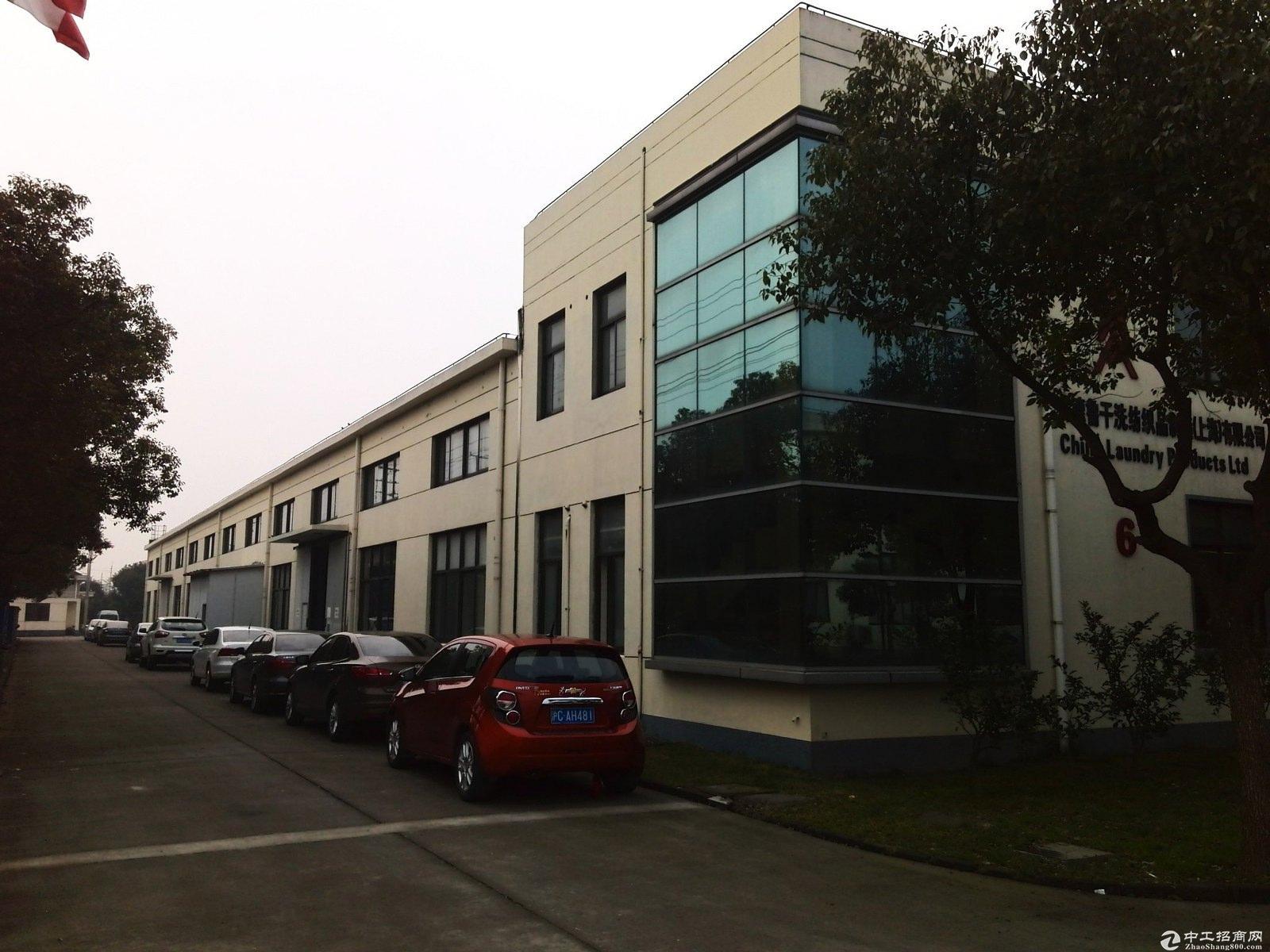 金山独门独院占地253亩三本产证建筑15万方厂房-图3
