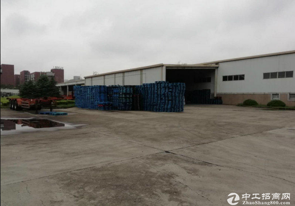 外环口独门独院1万平标准仓储高10米场地大