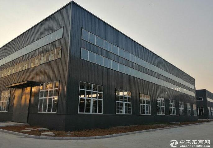 博望镇机床城工业园,单层钢结构厂房出租,层高11米