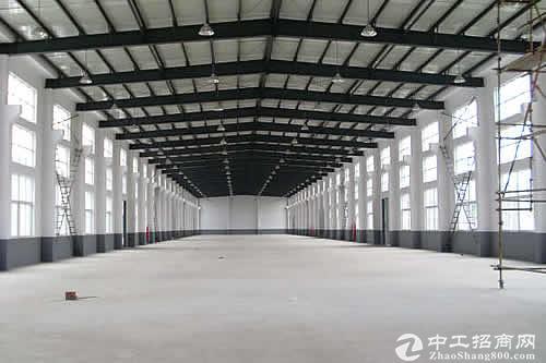 长兴虹星桥工业区8.4亩2100方单层厂房急售