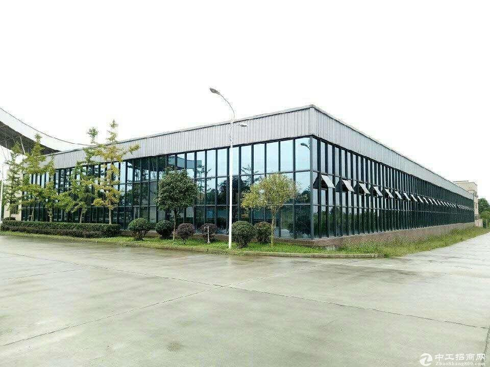 出租德阳绵竹产业园内3000平米厂房(另有2千5平米砼地面)可分租