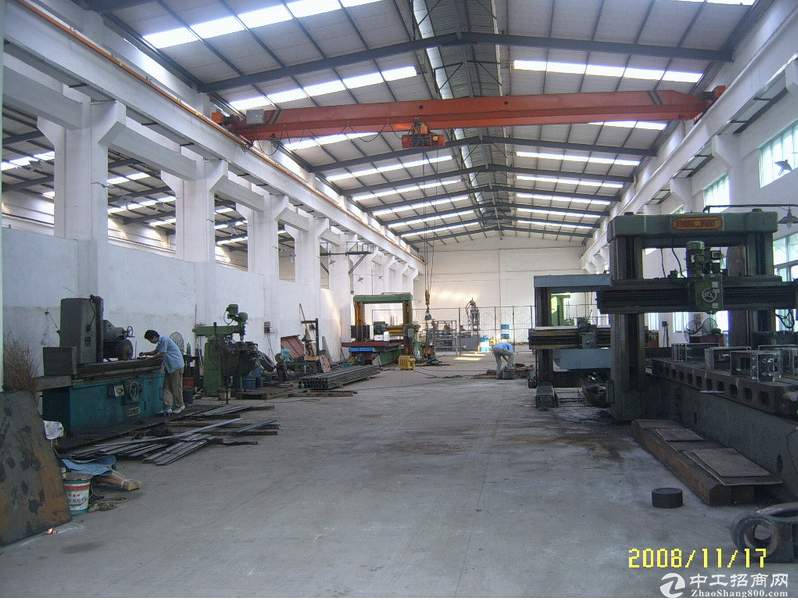 洛社2200平单层机械厂房、一部5t行车、层高8米