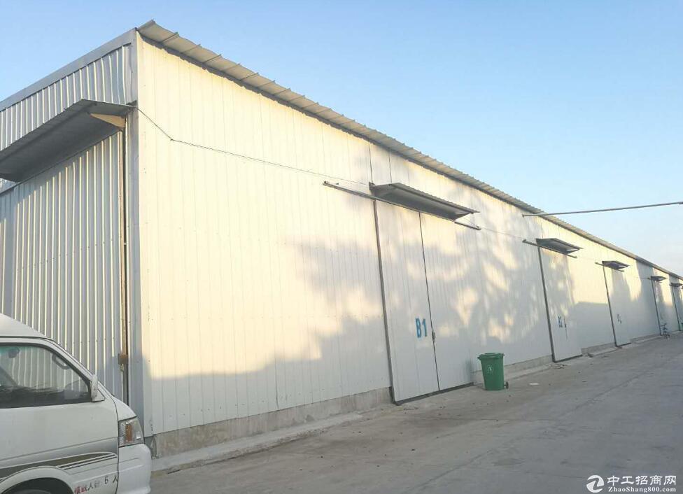 红安开发区钢构产业园,单层厂房8000平米 交通便利