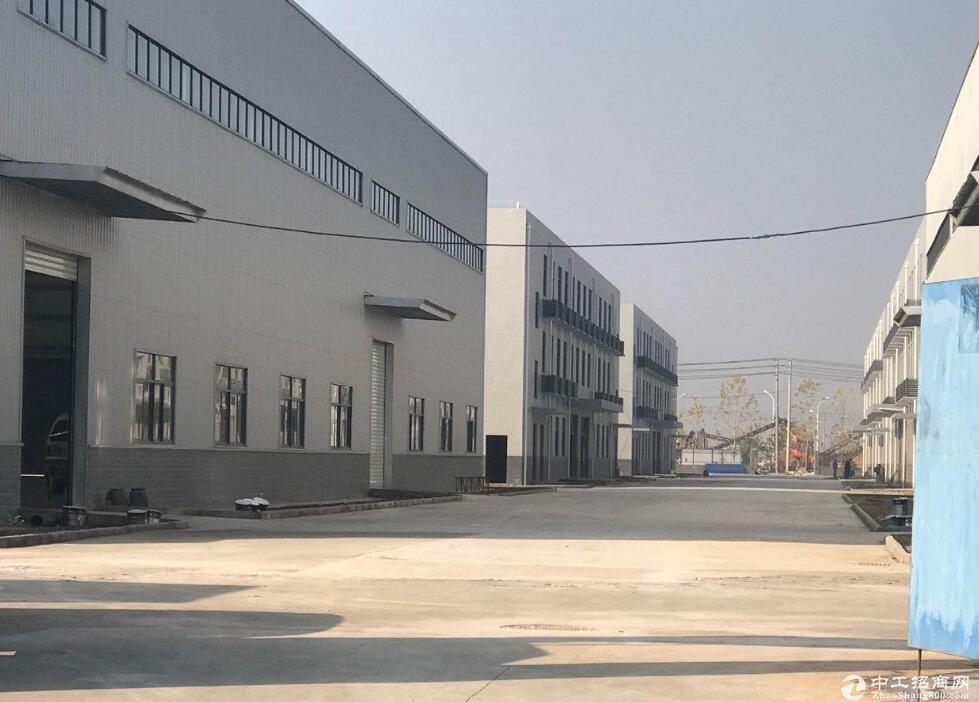 红安开发区钢构产业园,2千平独栋招商出售,大车方便