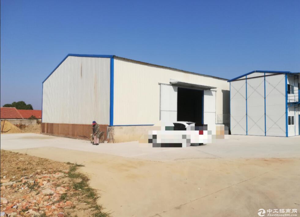 红安产园区内,单层厂房出售,可做冷链仓储食品等