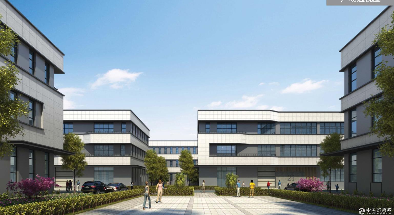 高架旁独栋厂房研发办公 层高8米 两证齐全首付5成