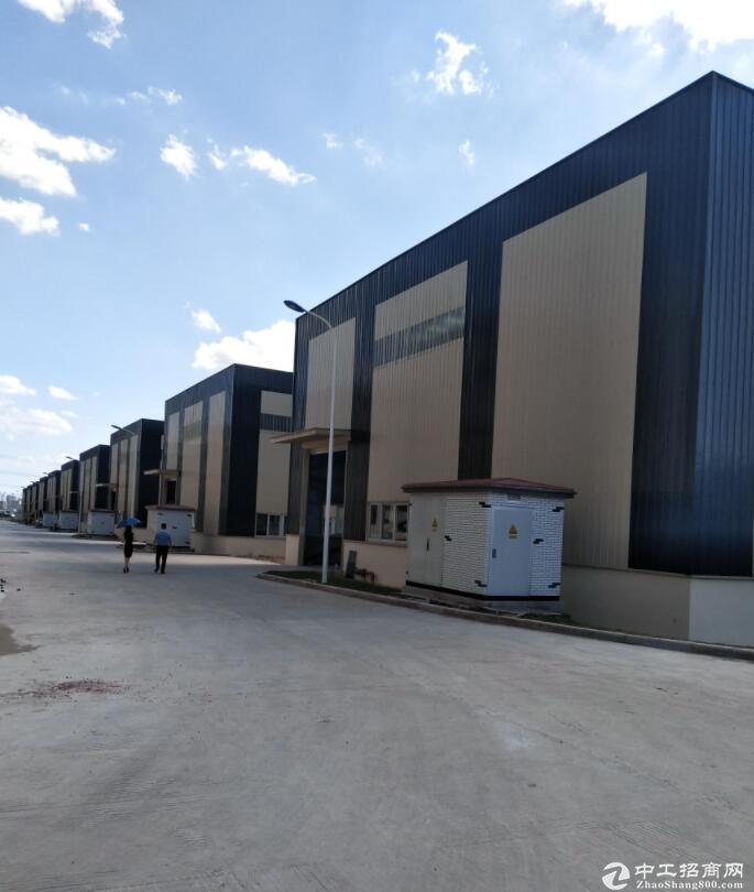 双轻轨带独立庭院单层12米独栋厂房出售