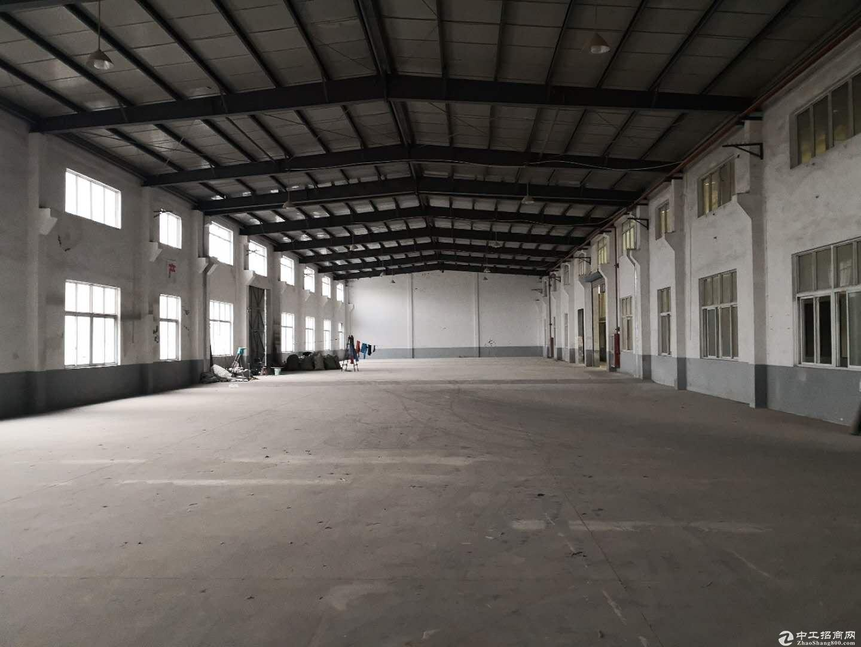 独门独院4300平1.1元厂房绿证带雨棚合同可长租