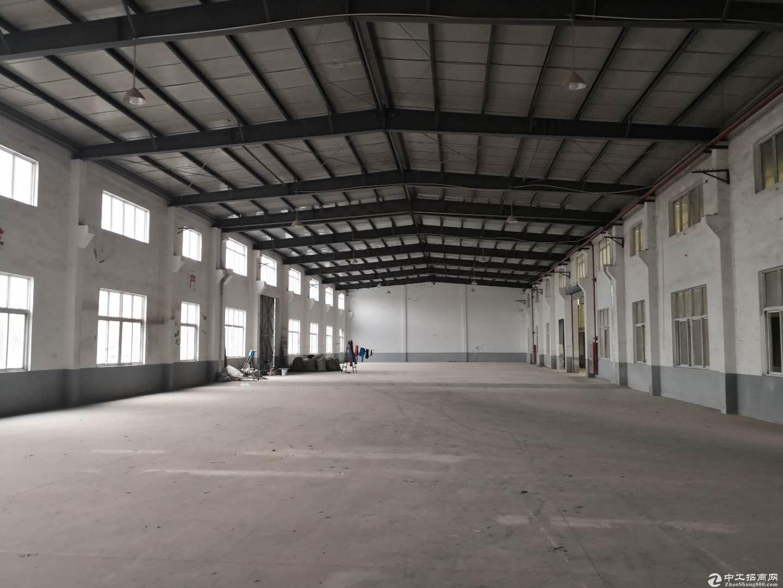 独门独院4300平1.1元厂房绿证带雨棚合同可长租-图3