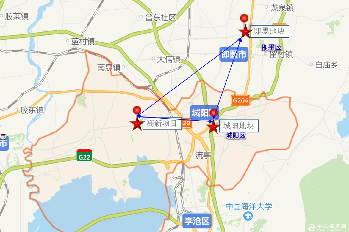 青岛厂房租售 全新 证齐全 大产权 可贷450万