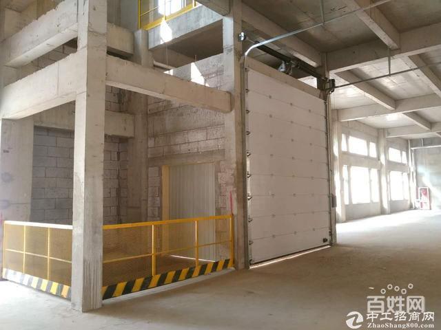 8.1米层高、8米超宽柱距;3、人货分流首层双入口设计图片3