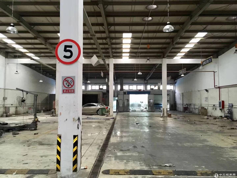 康桥火车头式厂房1500平可以分租层高6米产证齐全