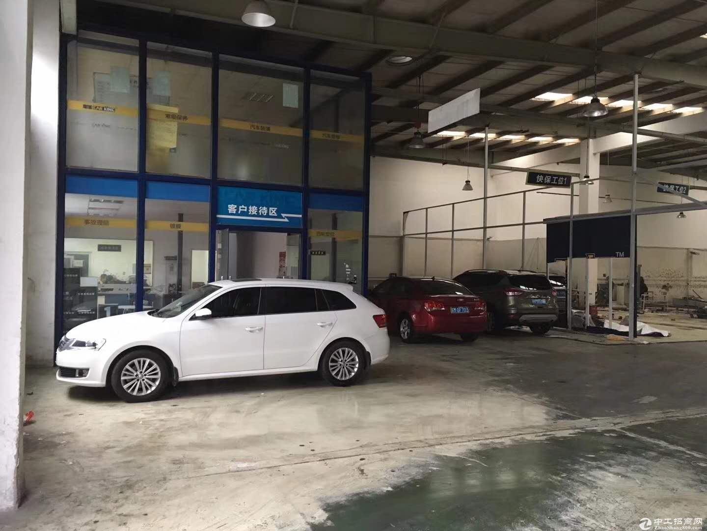 康桥火车头式厂房1500平可以分租层高6米产证齐全-图4