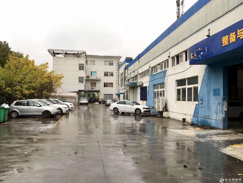 康桥火车头式厂房1500平可以分租层高6米产证齐全-图5