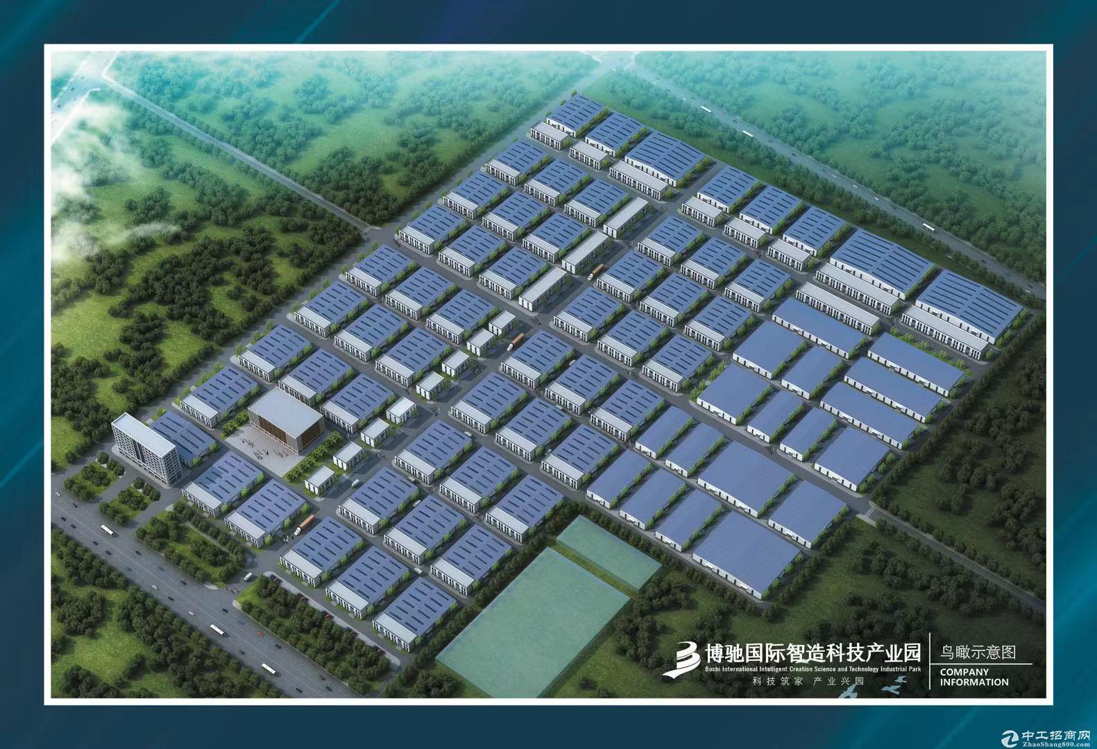 省级开发区独栋单层厂房600-2400平自由分割