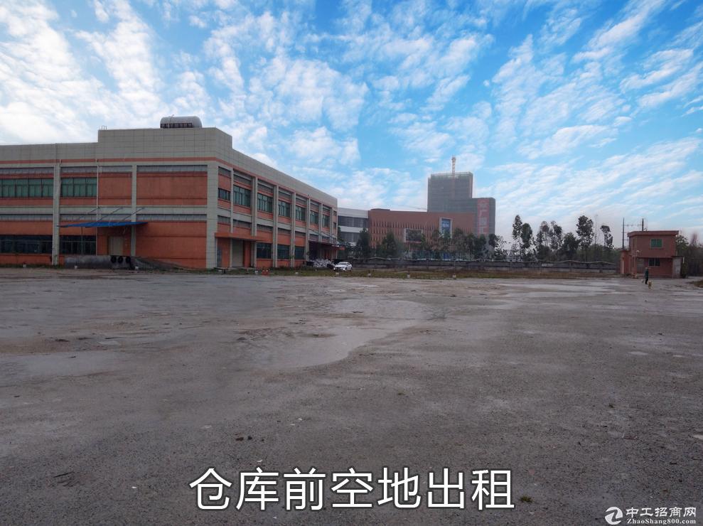 集司码头、新沙口岸邻近仓库和空地,旁边广深沿江高速-图5