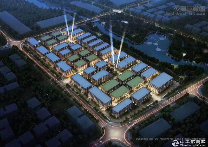 合肥新建园区厂房出售 609至5000平单层、独栋户型