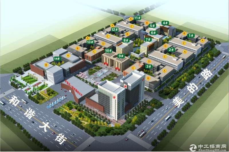 国营开发区双创科技园区孵化器办公楼厂房优惠分割转让-图2
