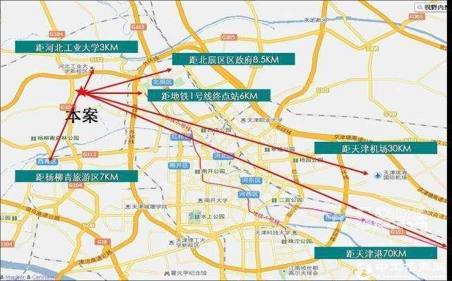 【出售有房本】京福公路北辰西道交口,50年独立产权,适合多个行业-图5