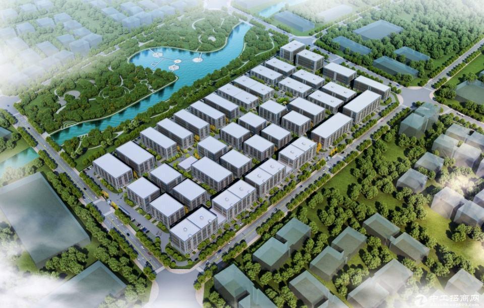 中南高科标准厂房出租8.1米层高独栋花园式办公