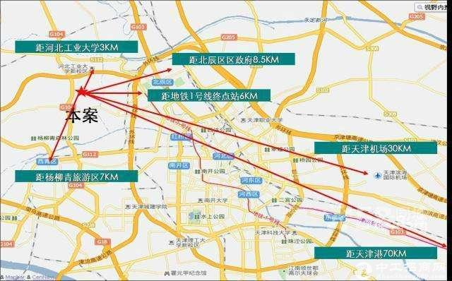 【有房本】北辰区津保高速出口,外环附近,50年独立产权厂房-图3