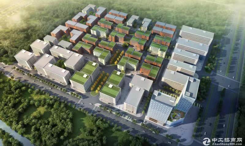 武汉白沙洲400-3200厂房,7.2层高,50产-图3