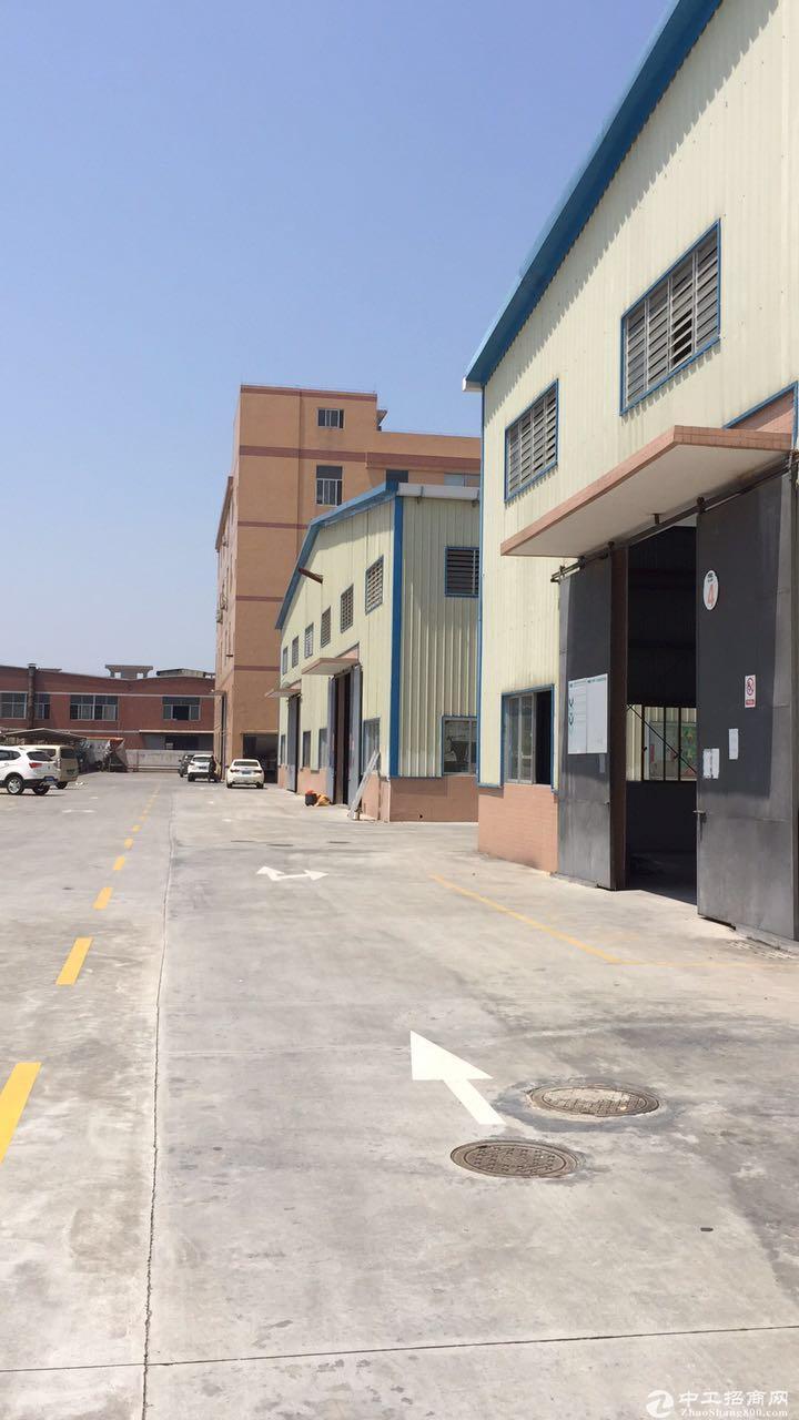 2000平方独门独院单一层厂房招租