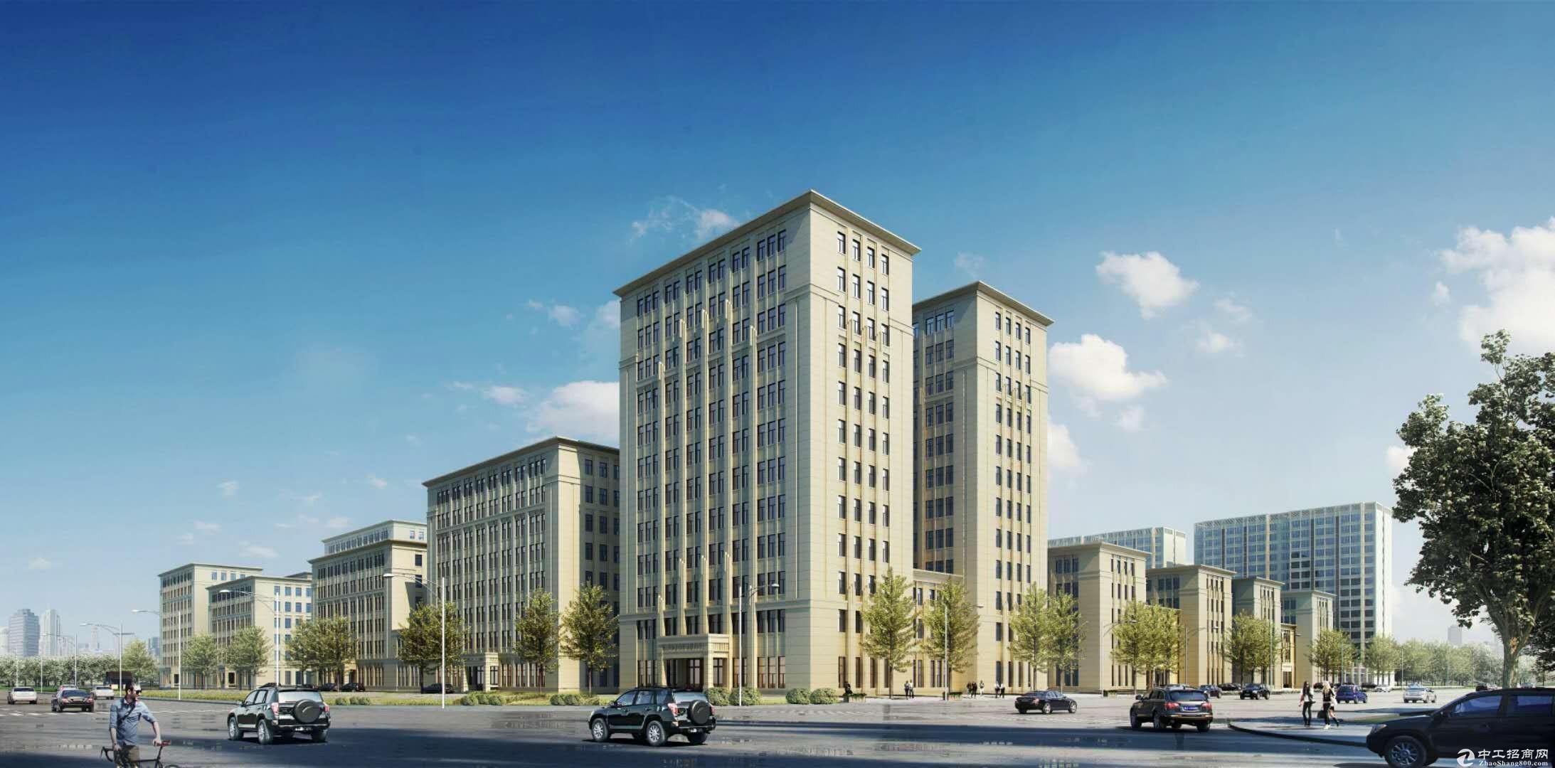 (出售) 高新区1500平米独栋厂房 产办研一体化 年底完工