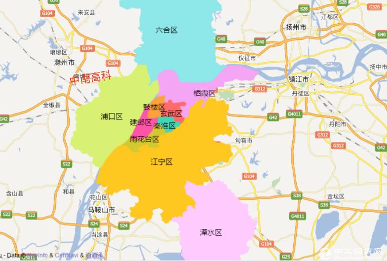 中南工业园滁州园区直招产权可分割可贷款