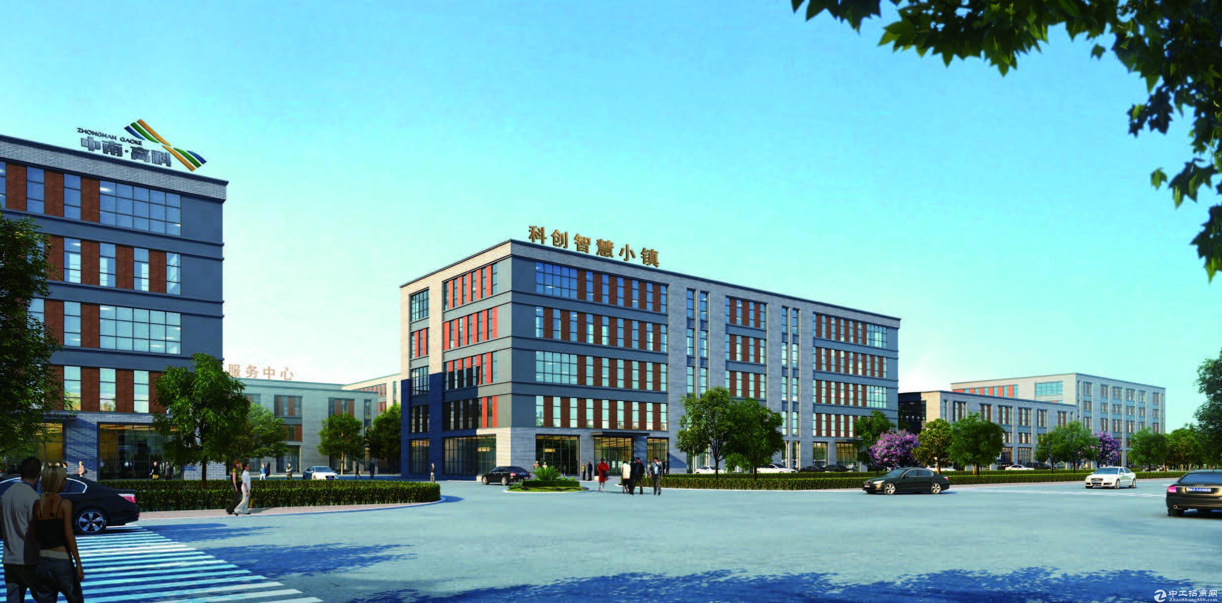 苏滁产业园周边50年产权400万厂房可环评